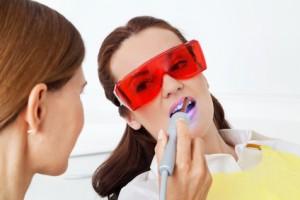 Laserbehandlung, Schutzbrille